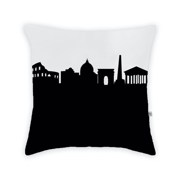 Rome Large Throw Pillow by Anne Cate