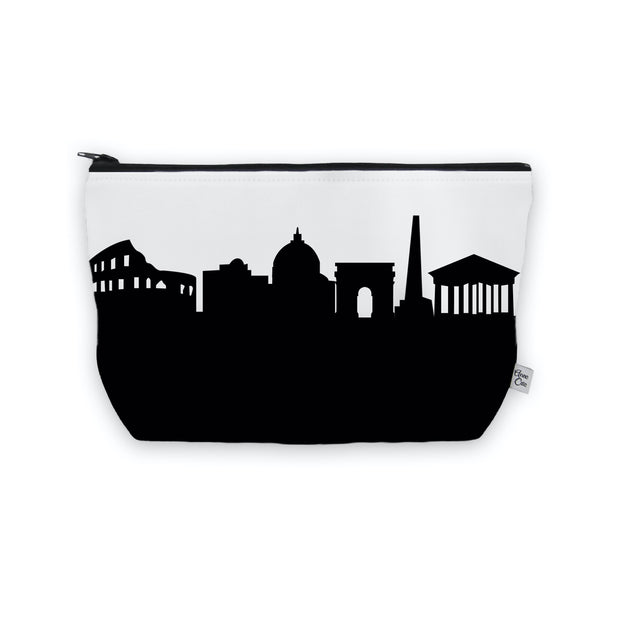 Rome Italy Skyline Cosmetic Makeup Bag