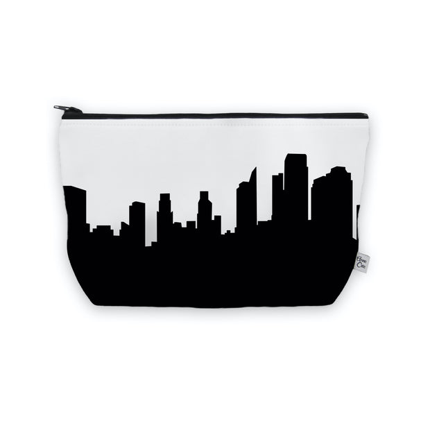 Sacramento CA Skyline Cosmetic Makeup Bag