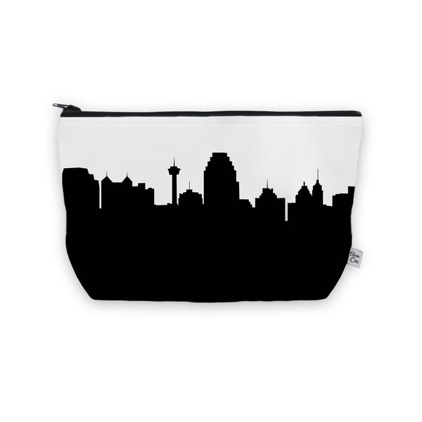 San Antonio Makeup Cosmetic Bag by Anne Cate