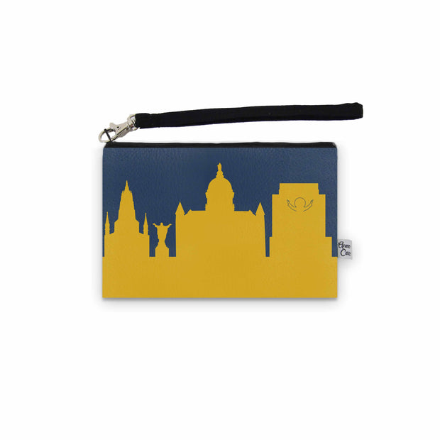 South Bend IN Game Day Wristlet - Stadium Approved - CUSTOMIZE IT!