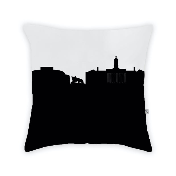 State College PA Skyline Large Throw Pillow