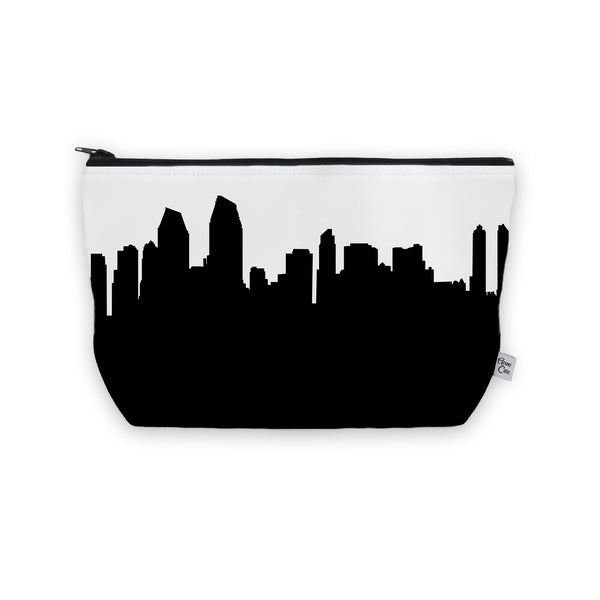 San Diego Makeup Cosmetic Bag by Anne Cate