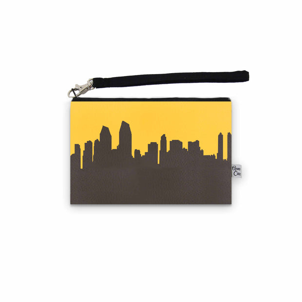 San Diego CA Game Day Wristlet - Stadium Approved - CUSTOMIZE IT!