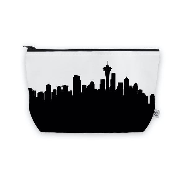 Seattle Makeup Cosmetic Bag by Anne Cate