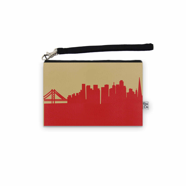 San Francisco CA Game Day Wristlet - Stadium Approved - CUSTOMIZE IT!