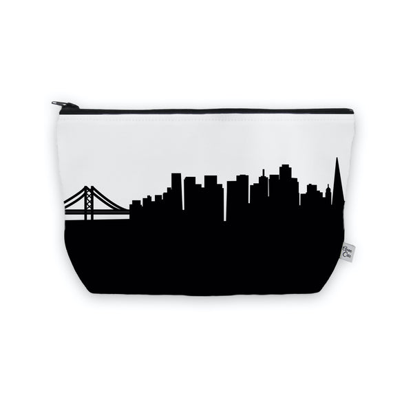 San Francisco Makeup Cosmetic Bag by Anne Cate