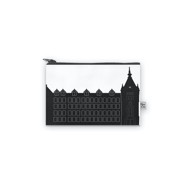 Cleveland OH (St. Ignatius High School) Skyline Mini Wallet (Vegan Leather)