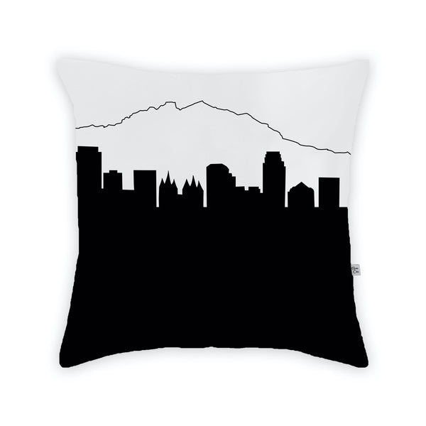 Salt Lake City Large Throw Pillow by Anne Cate