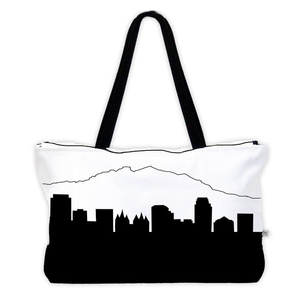 Salt Lake City UT Skyline Weekender Tote