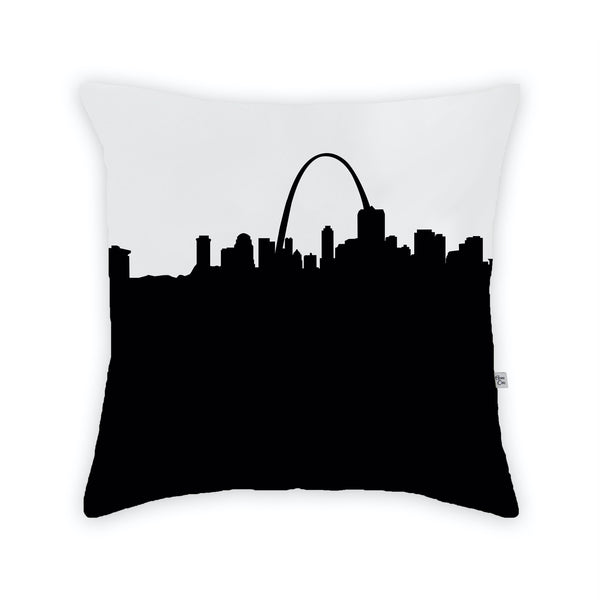 St. Louis Large Throw Pillow by Anne Cate