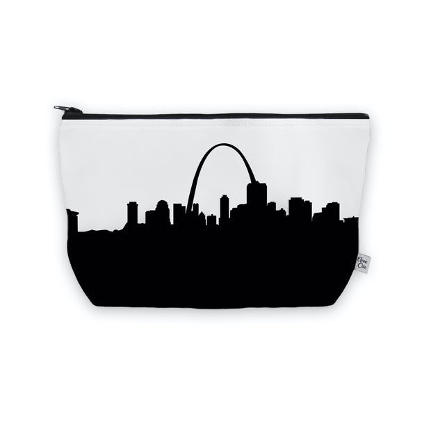 St. Louis MO Skyline Cosmetic Makeup Bag