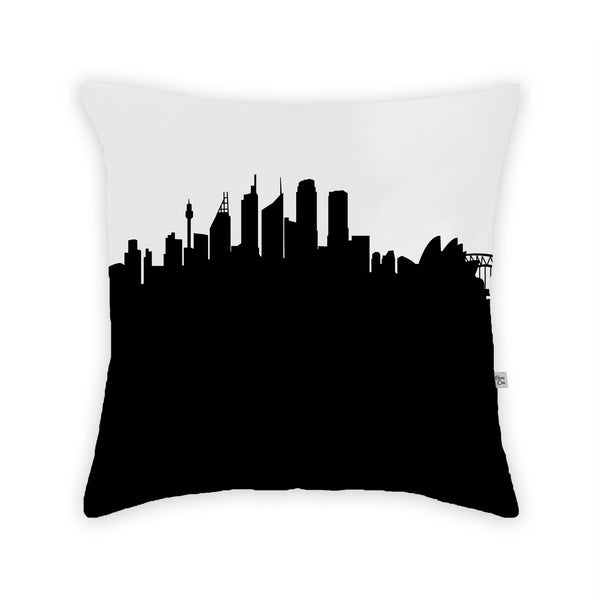 Sydney Large Throw Pillow by Anne Cate
