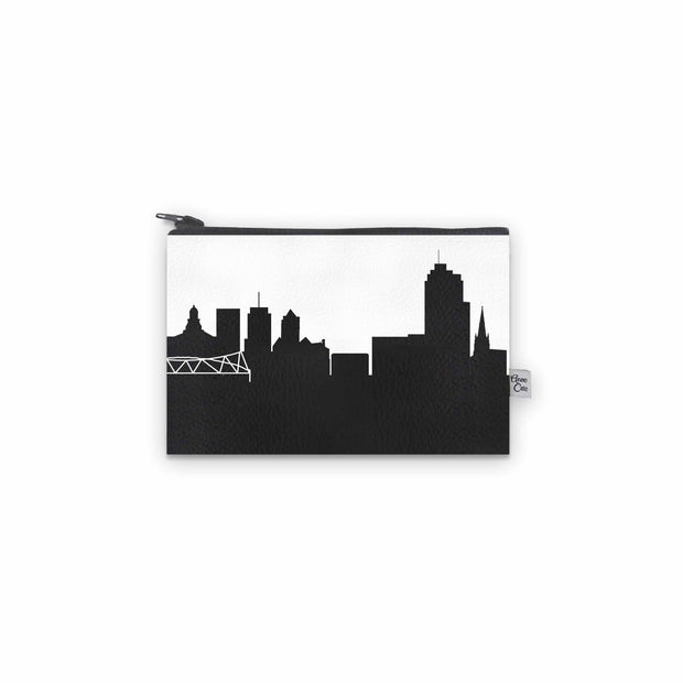 Syracuse NY Skyline Mini Wallet (Vegan Leather)