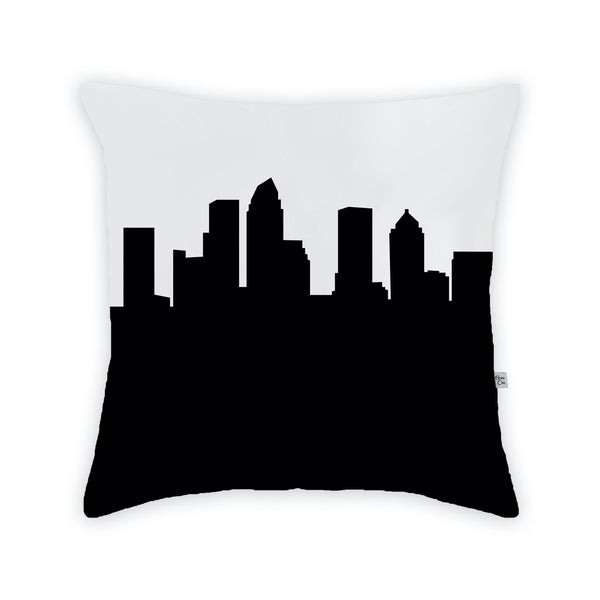 Tampa Large Throw Pillow by Anne Cate