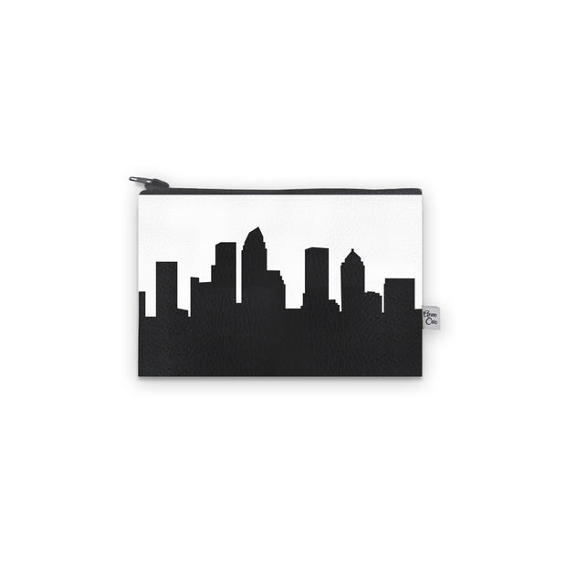 Tampa FL Skyline Mini Wallet (Vegan Leather)