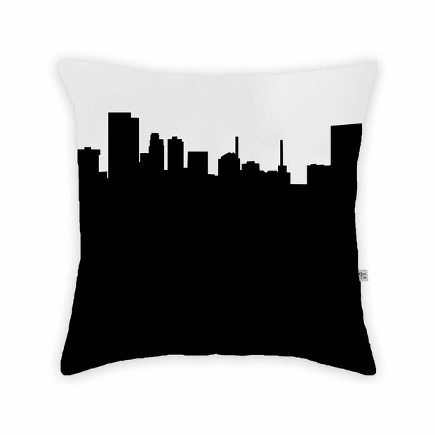 Toledo OH Skyline Large Throw Pillow
