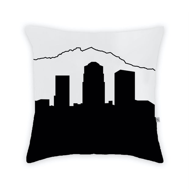 Tucson AZ Skyline Large Throw Pillow
