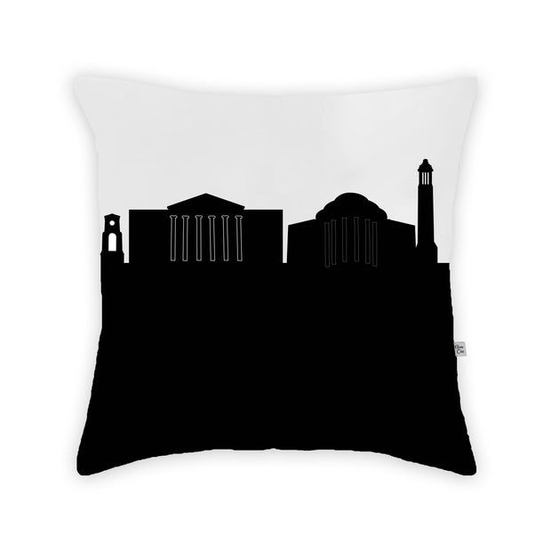 Tuscaloosa AL Skyline Large Throw Pillow