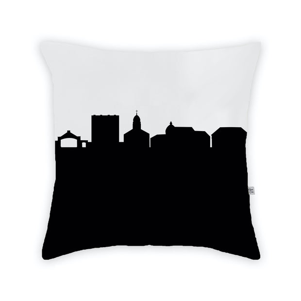 Dayton OH (Univ. of Dayton) Skyline Large Throw Pillow