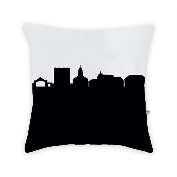 University of Dayton Large Throw Pillow by Anne Cate