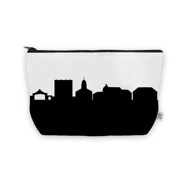 Dayton OH (Univ. of Dayton) Skyline Cosmetic Makeup Bag