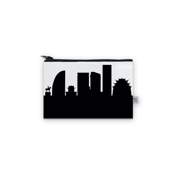 Ulaanbaatar Mongolia Skyline Mini Purse