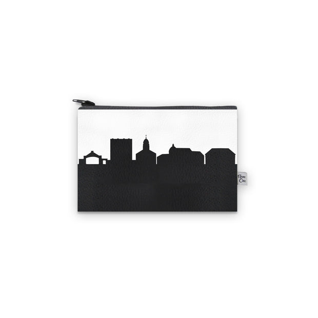 Dayton OH (Univ. of Dayton) Skyline Mini Wallet (Vegan Leather)