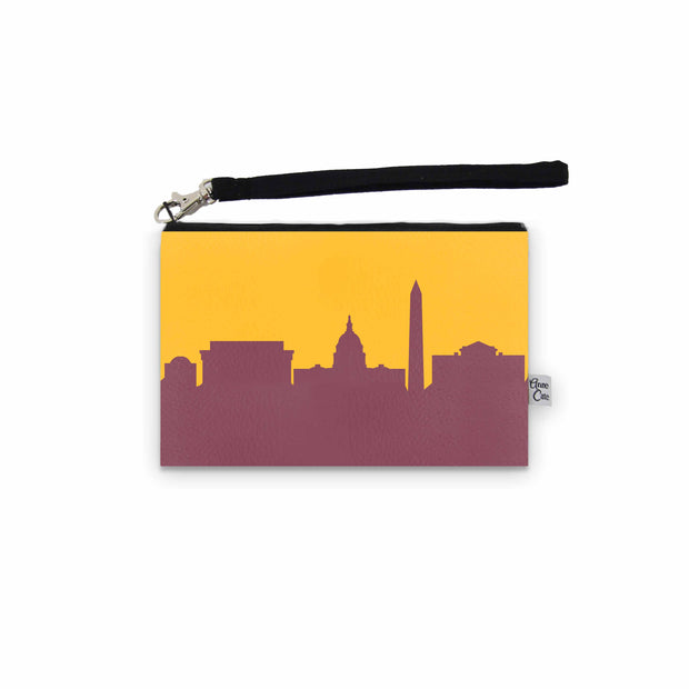 Washington D.C. Game Day Wristlet - Stadium Approved - CUSTOMIZE IT!