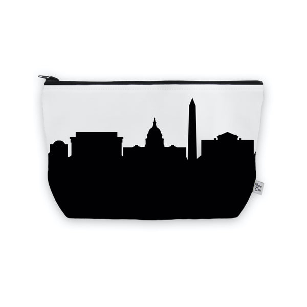 Washington D.C. Makeup Cosmetic Bag by Anne Cate
