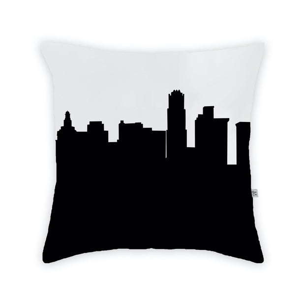Youngstown OH Skyline Large Throw Pillow