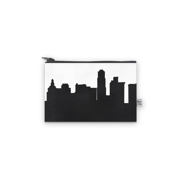 Youngstown OH Skyline Mini Wallet (Vegan Leather)