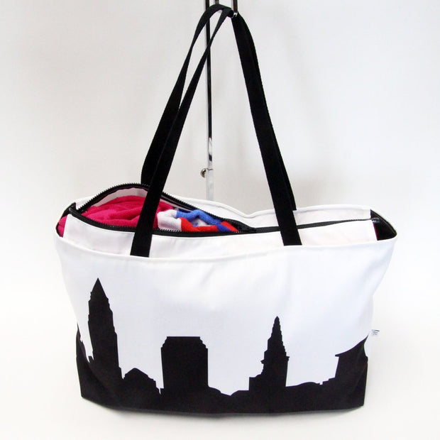Madrid Spain Skyline Weekender Tote