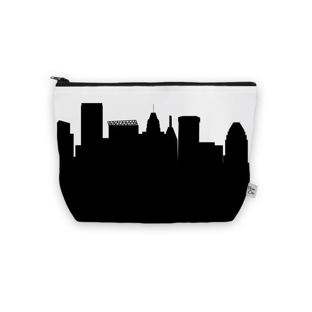 Baltimore MD Skyline Cosmetic Makeup Bag