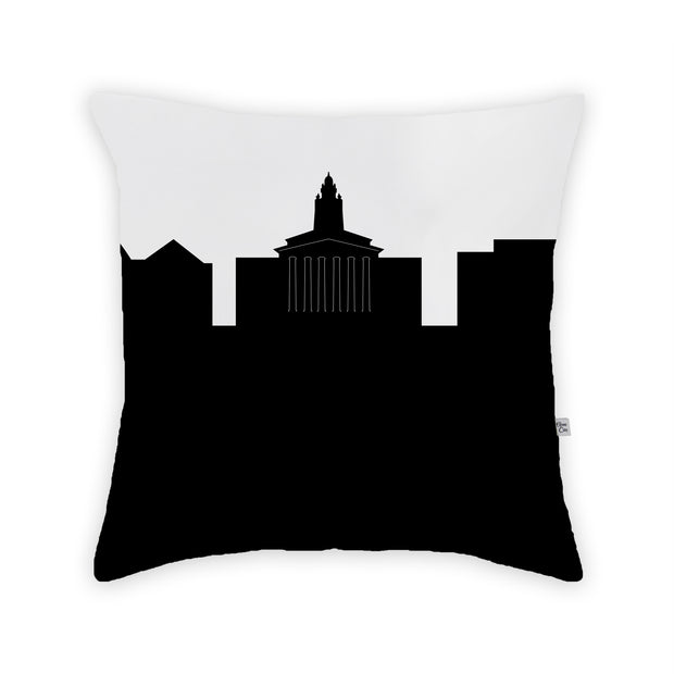 Granville OH Skyline Large Throw Pillow