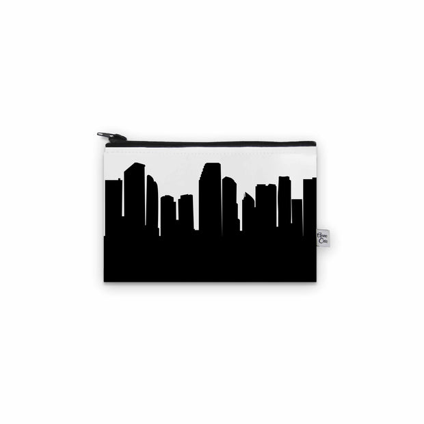 Miami FL Skyline Mini Purse