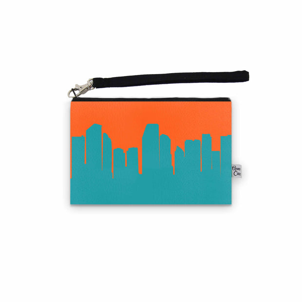 Miami FL Game Day Wristlet - Stadium Approved - CUSTOMIZE IT!