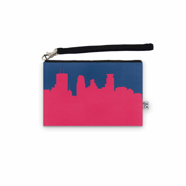 Minneapolis MN Game Day Wristlet - Stadium Approved - CUSTOMIZE IT!
