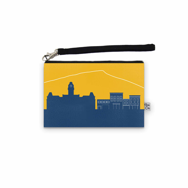 Morgantown WV Game Day Wristlet - Stadium Approved - CUSTOMIZE IT!