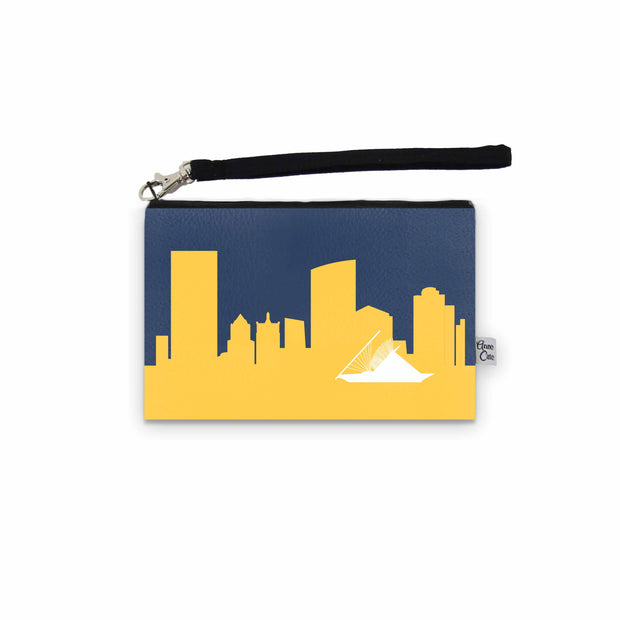 Milwaukee WI Game Day Wristlet - Stadium Approved - CUSTOMIZE IT!