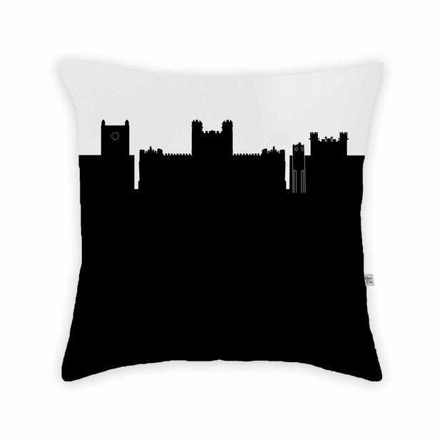 Norman OK Skyline Large Throw Pillow