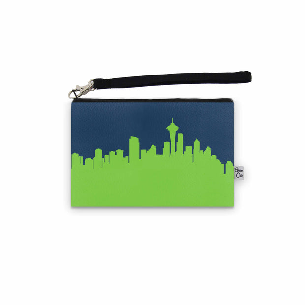 Seattle WA Game Day Wristlet - Stadium Approved - CUSTOMIZE IT!
