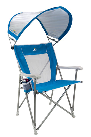 GCI Waterside SunShade Captain's Chair, Saybrook BlueGCI Waterside SunShade Captain's Chair, Saybrook Blue