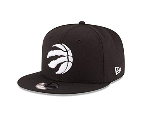 New Era NBA Toronto Raptors Men's 9Fifty Snapback Cap, One Size, Black