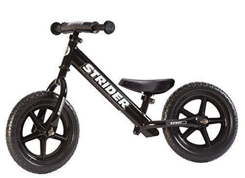 Strider - 12 Sport Balance Bike, Ages 18 Months to 5 Years