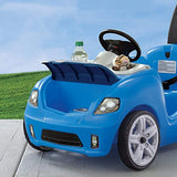 Step2 Whisper Ride II Ride On Push Car, Blue