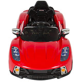Best Choice Products 12V Kids Battery Powered Remote Control Electric RC Ride-On Car - Red