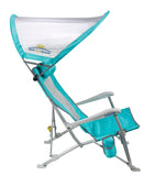 GCI Waterside SunShade Recliner, Seafoam GreenGCI Waterside SunShade Recliner, Seafoam Green