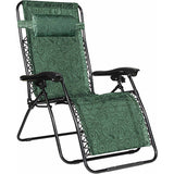 Camco Large Zero Gravity Chair - Green