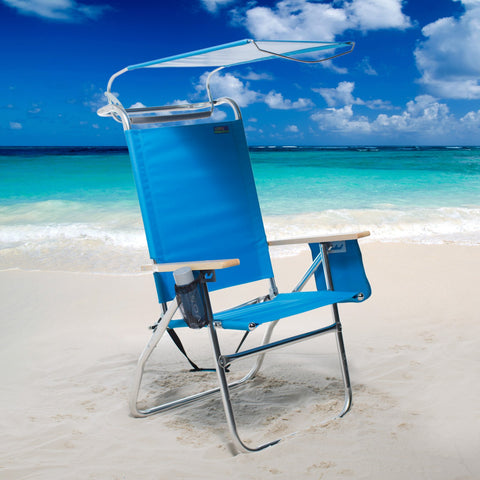 Copa 4 Position Big Tycoon Canopy Beach ChairCopa 4 Position Big Tycoon Canopy Beach Chair